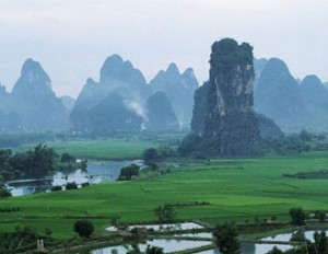 Karst towers Thailand