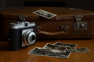 Taking travel photos