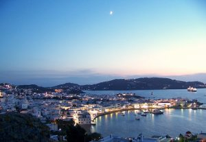 mykonos night