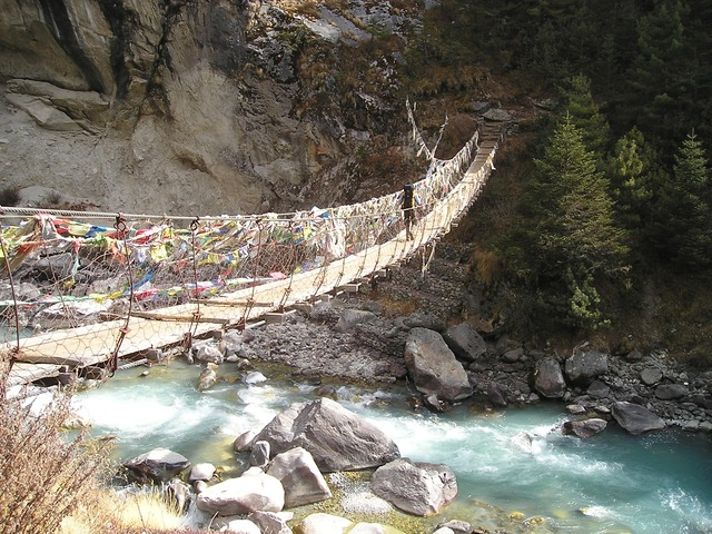 Nepal Trecking bridge