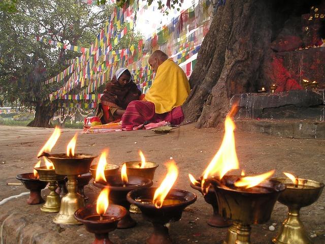 Nepal prayers