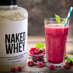 Whey and Strawberry Shake