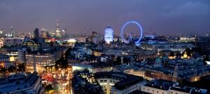 London night sky