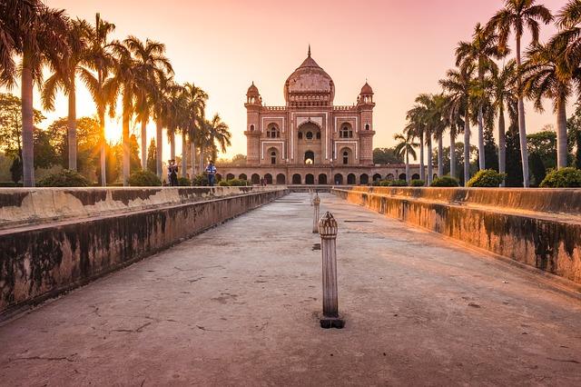 humayun-tomb sunrise